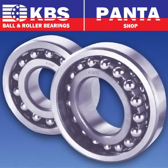 KBS Edelstahlkugellager SS 608 2RS